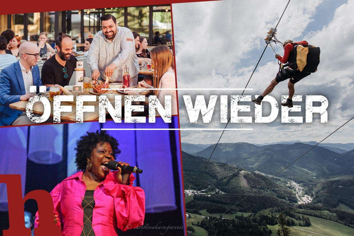 Öffnungen in Wien und NÖ: Diese Freizeit ist jetzt wieder möglich!
