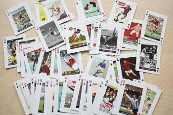 Fußballlegenden, Kartenspiel, Piatnik