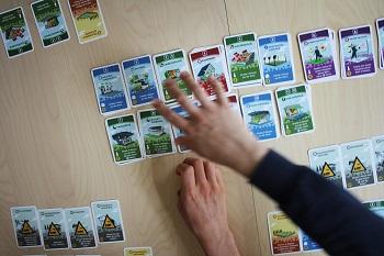 Fußball-Strategiespiel, Machi Koro Fußball, Karten