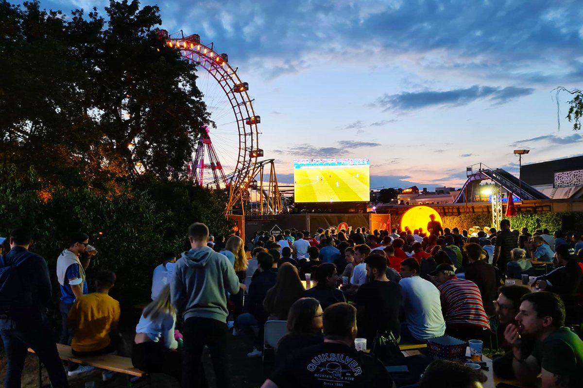 Public Viewing in Wien: 10 Orte, wo du die EM genießen kannst