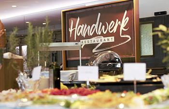 handwerk restaurant, arcotel, wien, jazzbrunch, vatertagsbrunch