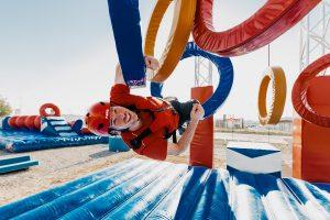 Wipeout Parndorf im Test: Der Spaß am Absturz