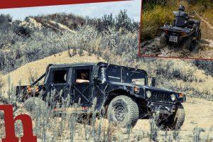 Gewinn Hummer-Fahrt oder Quad-Tour für 2 im Waldviertel