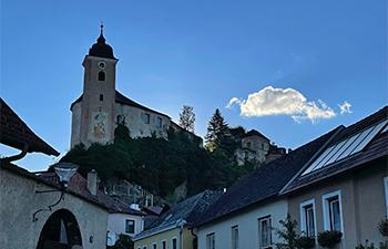 ruine rehberg, burgkirche, niederösterreich