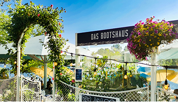 bootshaus, alte donau, landtmann, steg, romantisch, terrasse, gastgarten, am wasser,