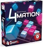 Schachtel von 4Mation von Piatnik, 4 Gewinnt Variante
