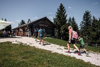 Anna-Alm Hütte am Hennesteck in Annaberg in Niederösterreich