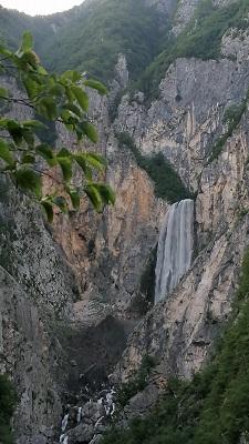 Boka-Wasserfall, Foto mit dem Handy