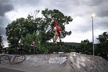 Goodland Skatepark Hütteldorf, Jakob Kristoferitsch, Air, Skateboarden, Transition