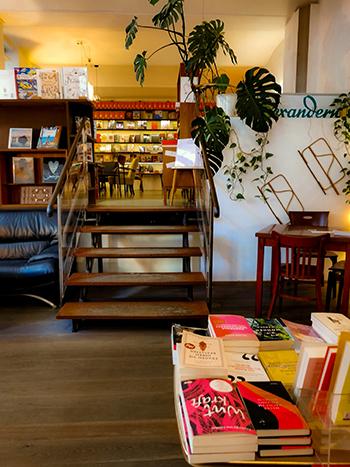 buch-café, wien, 1060, bücherei, kaffeehaus, winter,