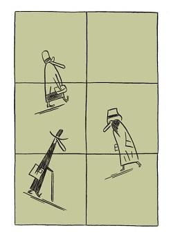 Comicstrip von Nicolas Mahler