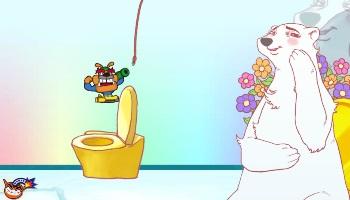 Eisbare in WarioWare, Videospiel für die Nintendo Switch