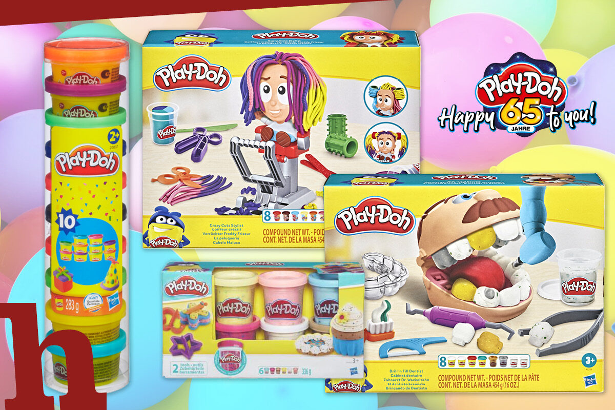 Mega Play-Doh Partybox im Wert von 200 Euro gewinnen!