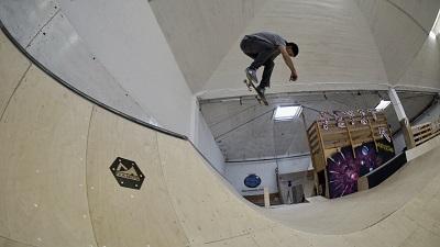 Roman Hackl, Air, in der Skatearea23